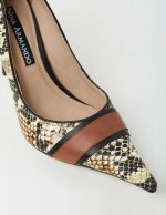 FAITH - SNAKESKIN BROWN
