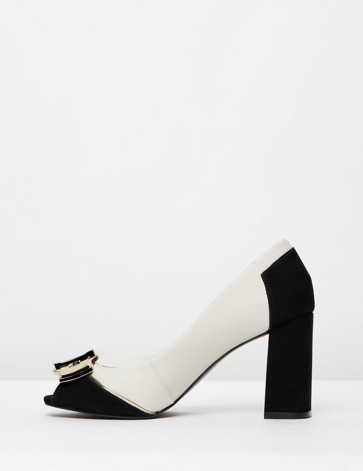 Cleo - Black & Off White