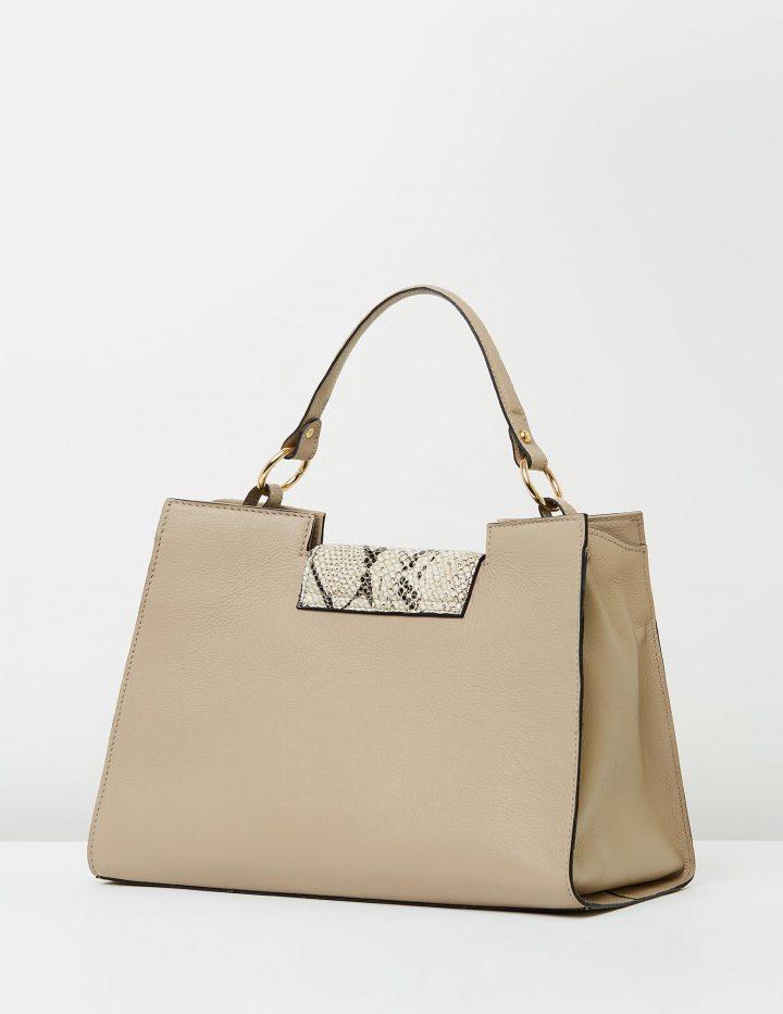 Santos - Taupe Shoulder Bags