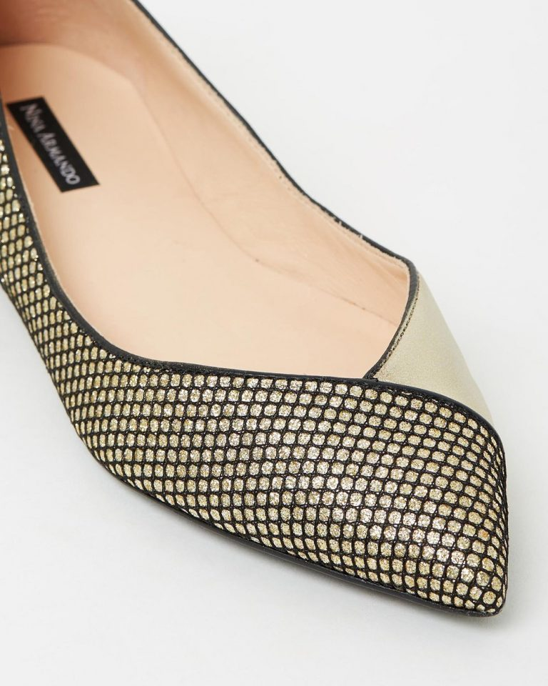 Marizete - Gold with Black
