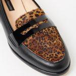 Gwendolyn - Black with Leopard
