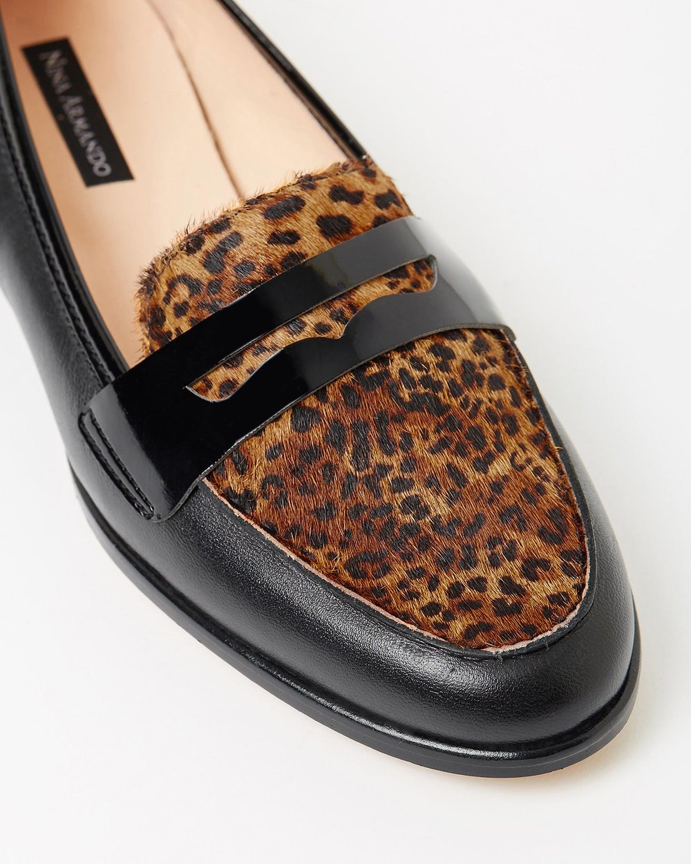 Gwendolyn - Black with Leopard