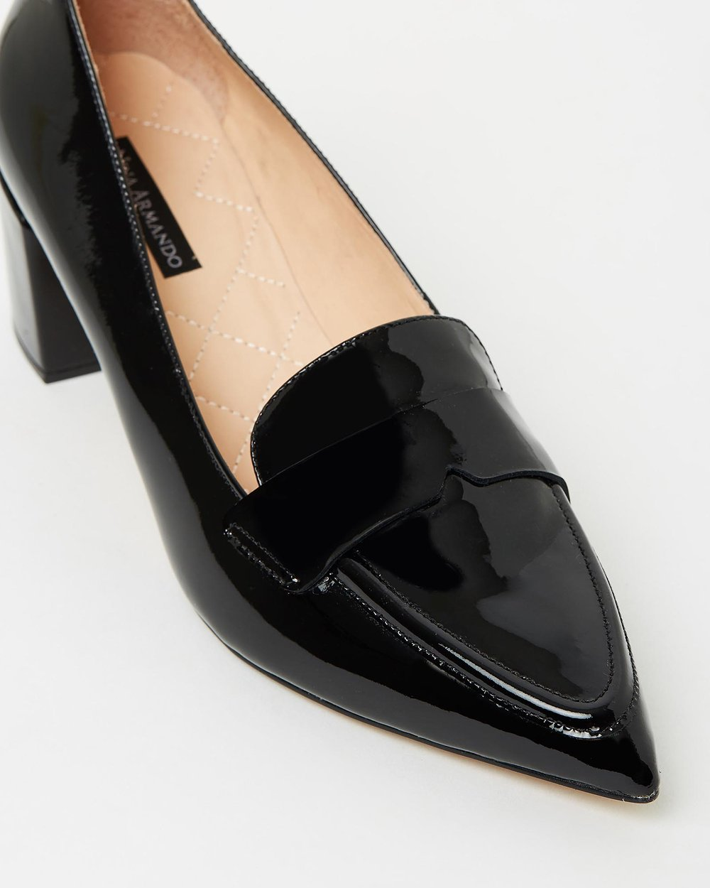 Lesley - Black Patent