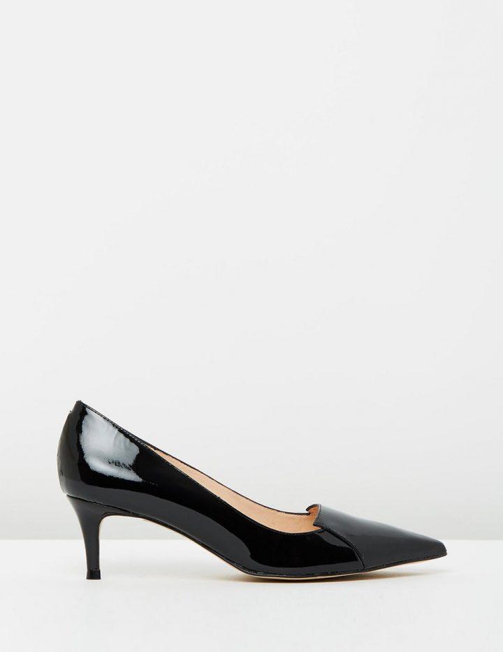 Connie - Black Patent