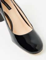Abbey - Black Patent