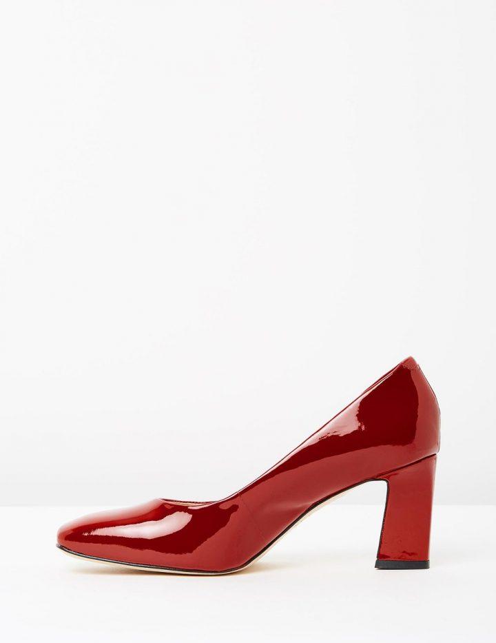 Marla II - Red Patent