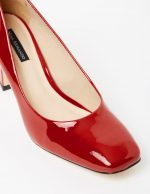 Marla II - Red Patent