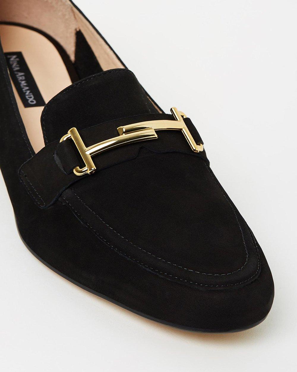Loafer - Black Suede