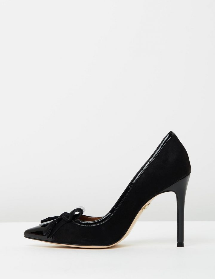 Madison - Black Suede