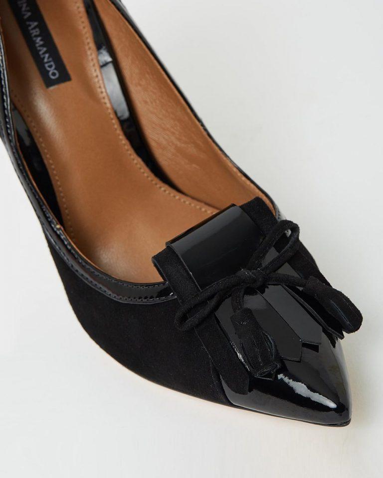 Madison - Black Suede