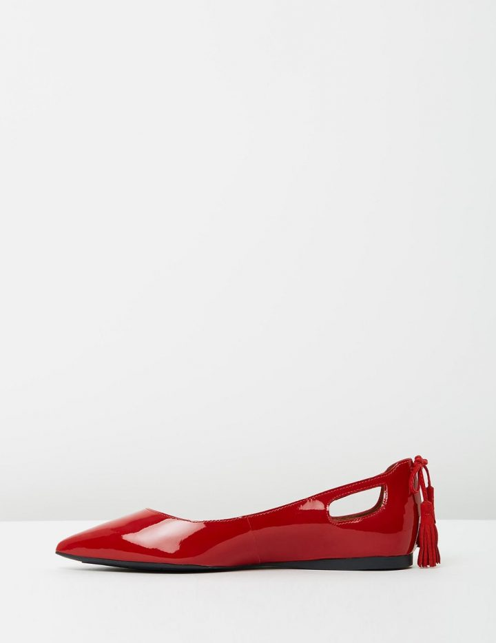 Mandy - Red Patent