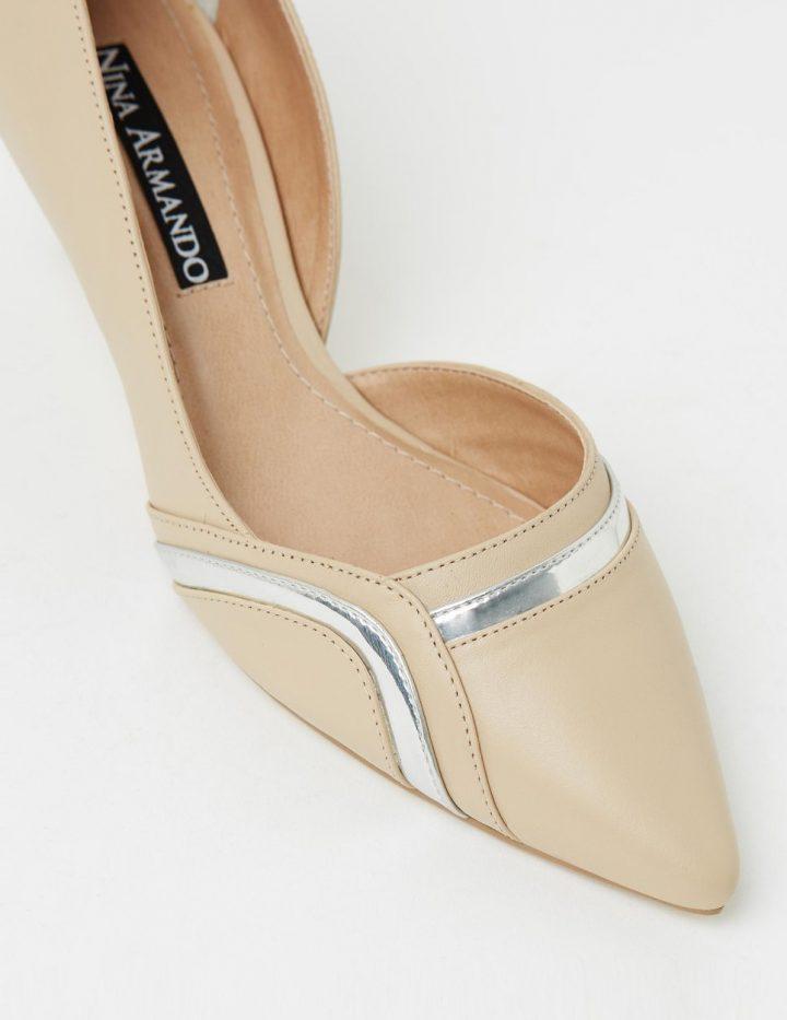 Barbara - Cream & Silver