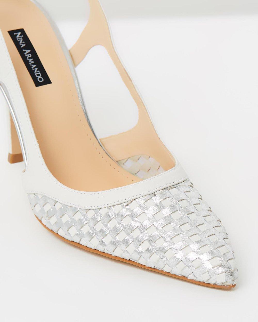 Bridget - White & Silver