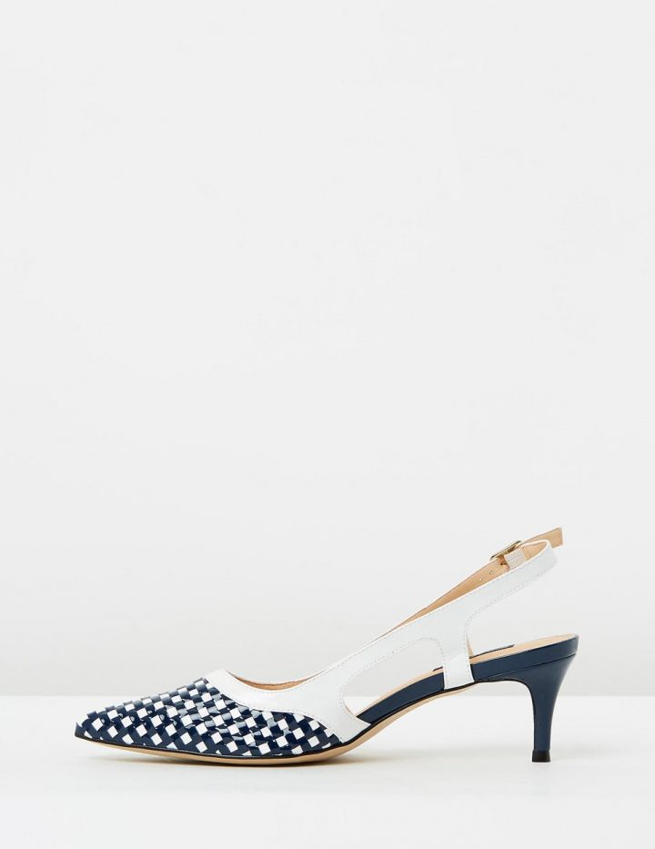Harper - Navy & White