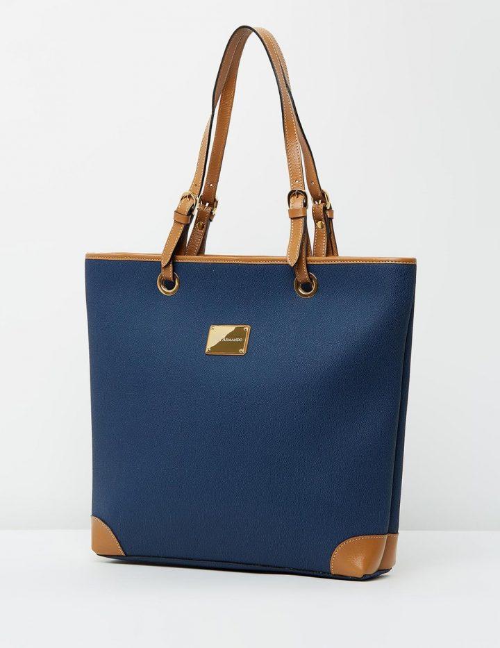 Wanda - Blue & Tan