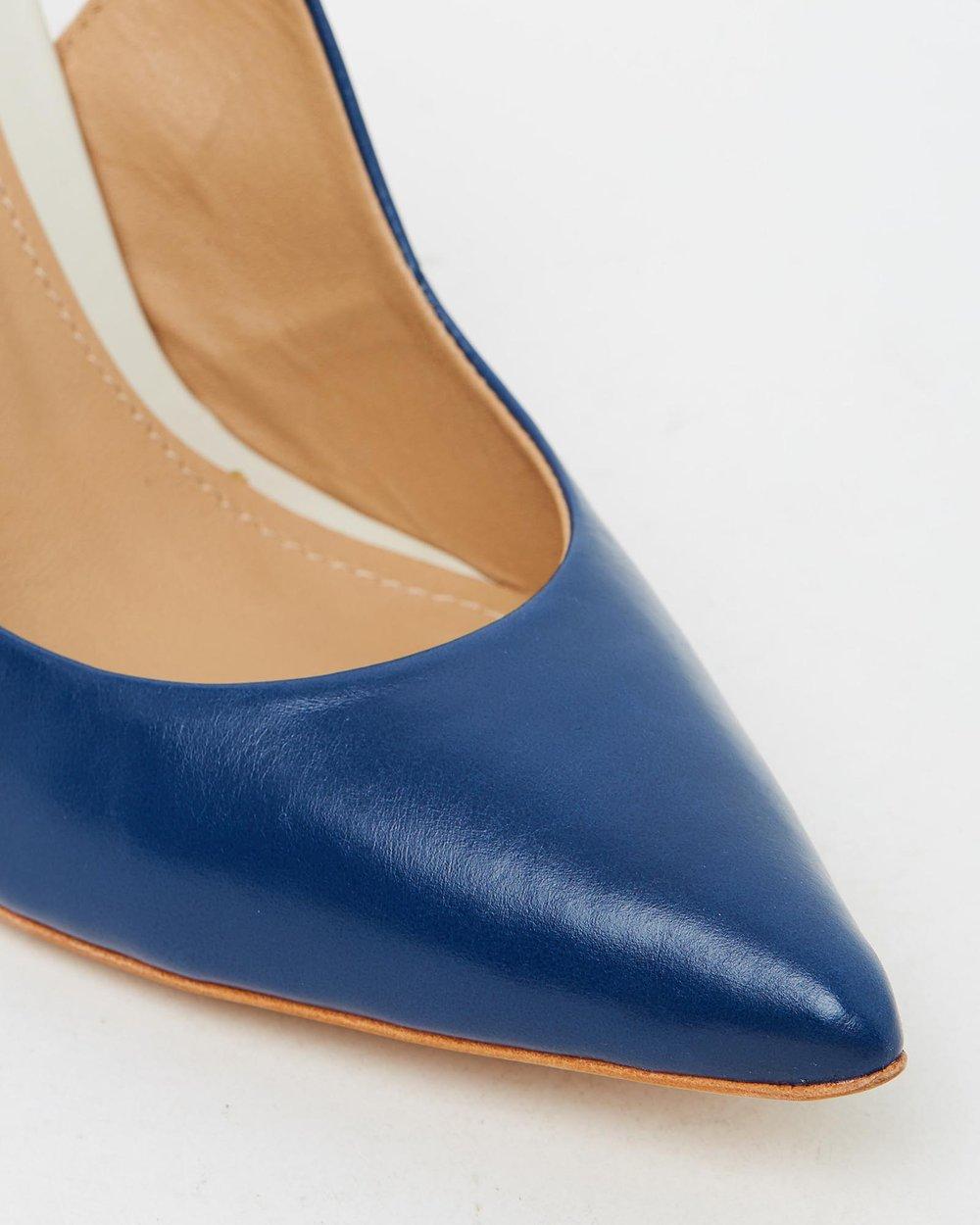 Farah - Royal Blue & Off-White