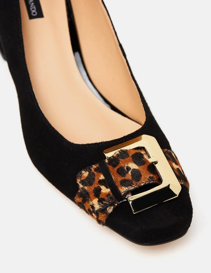 Diamond - Black & Leopard