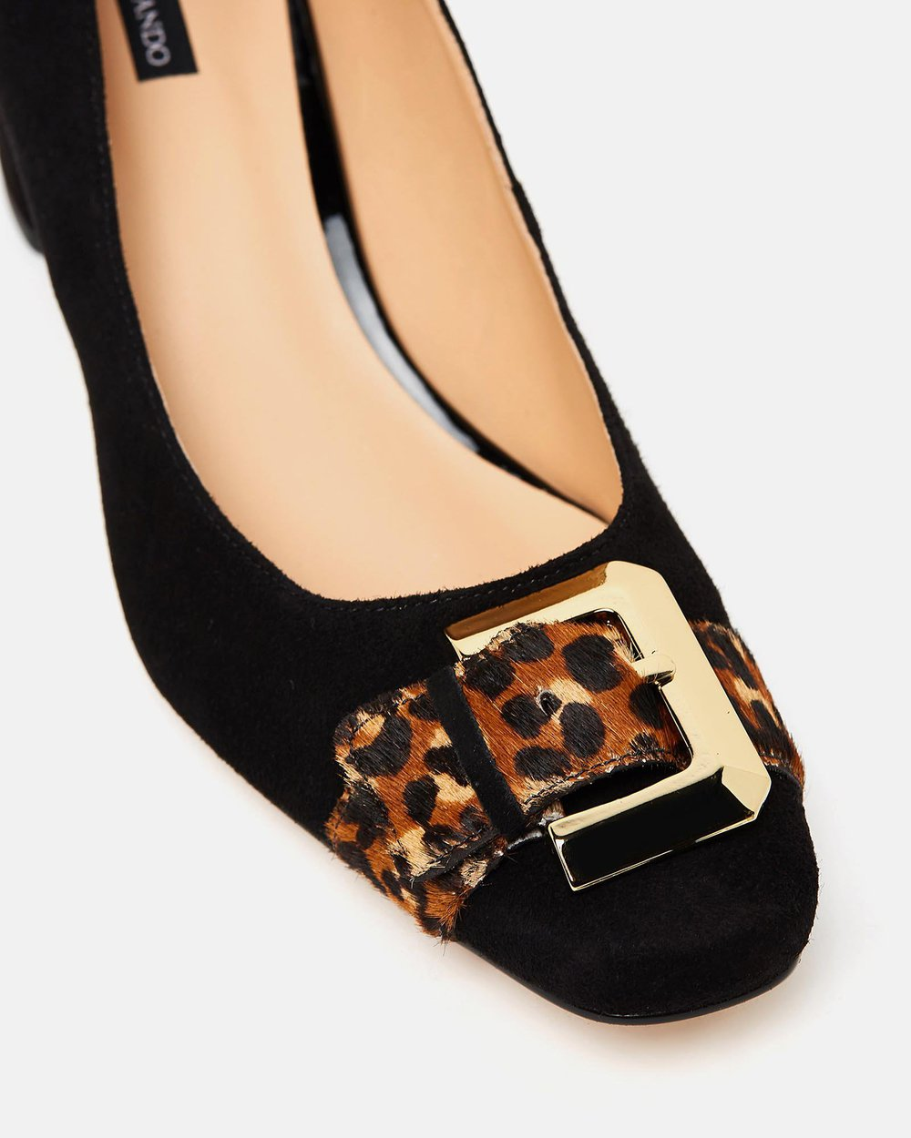 Diamond - Black & Leopard