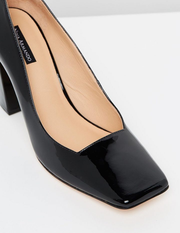 Christine - Black Patent