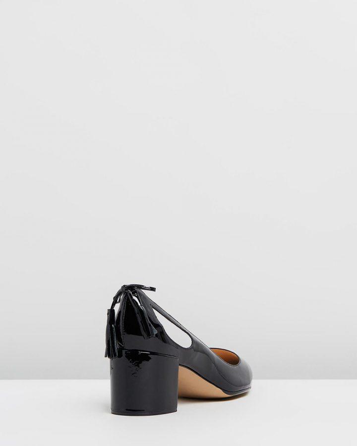 Amanda - Black Patent
