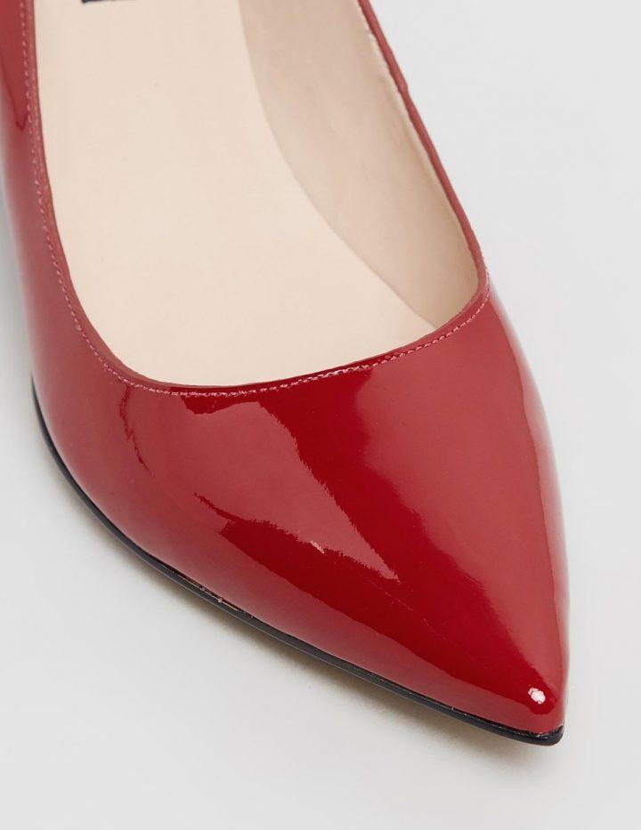 Amanda - Red Patent