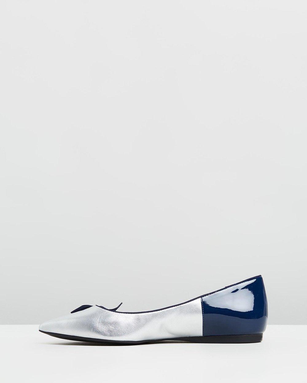 Sabrina - Navy & Silver