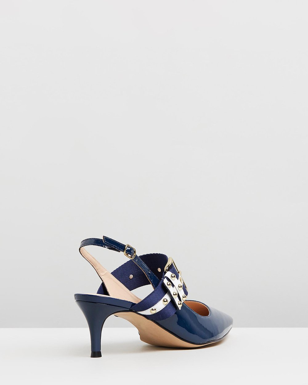 Raquel - Navy & White