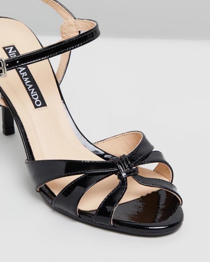 Flora - Black Patent