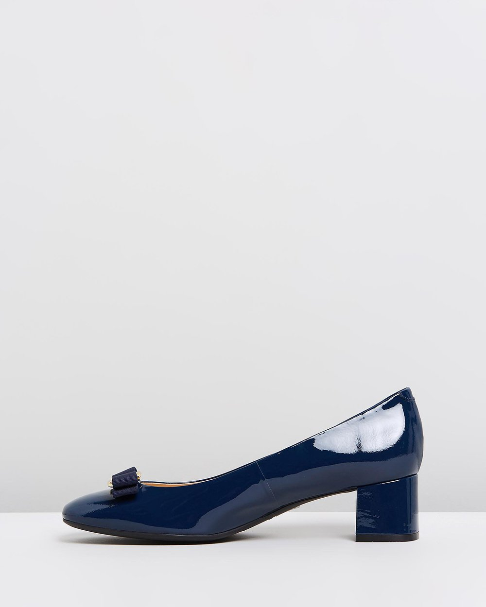 Rosey - Navy Patent