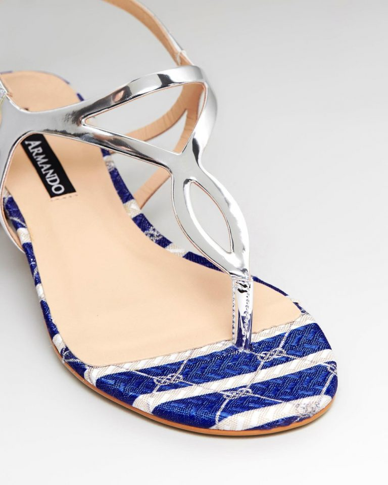Manuela - Silver & Blue