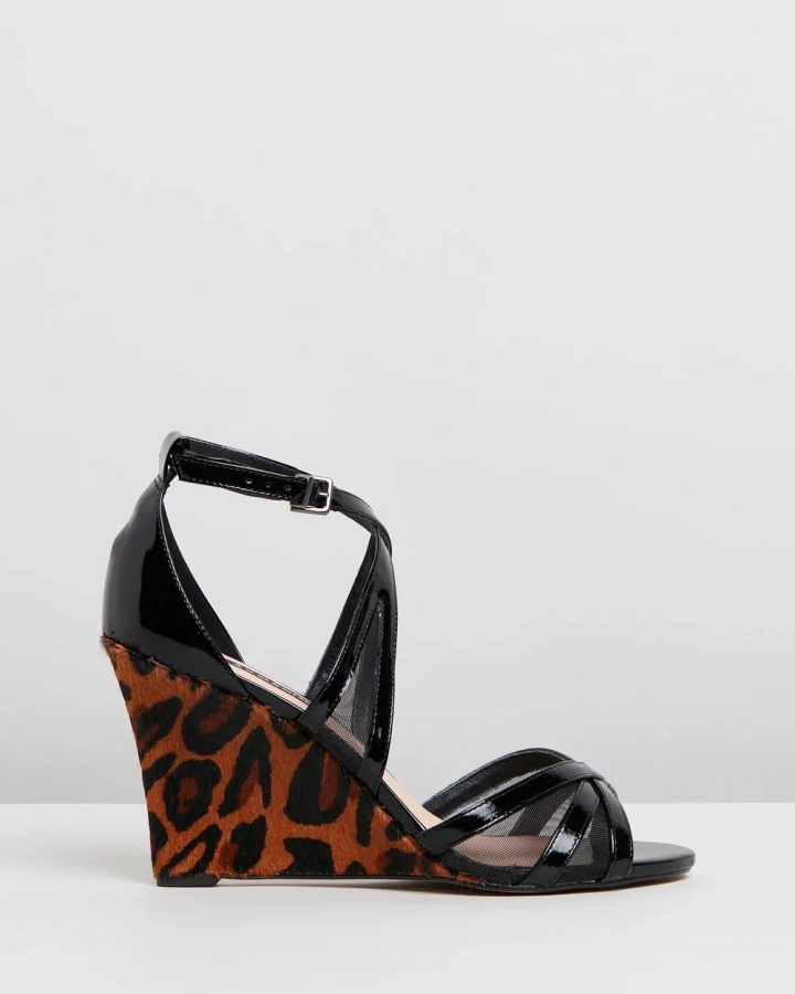 Jennifer - Black & Leopard