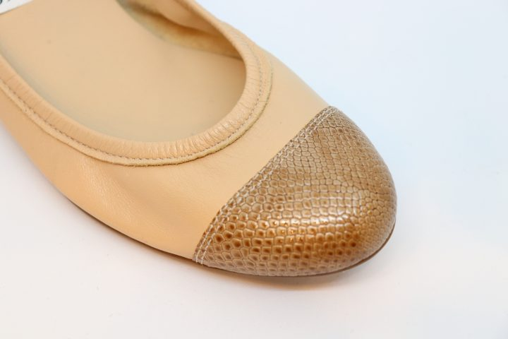 Matilda - Beige With Lezard Soft Light Tan