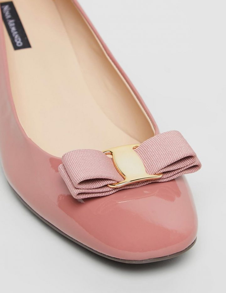 Rosey - Dusty Pink Patent