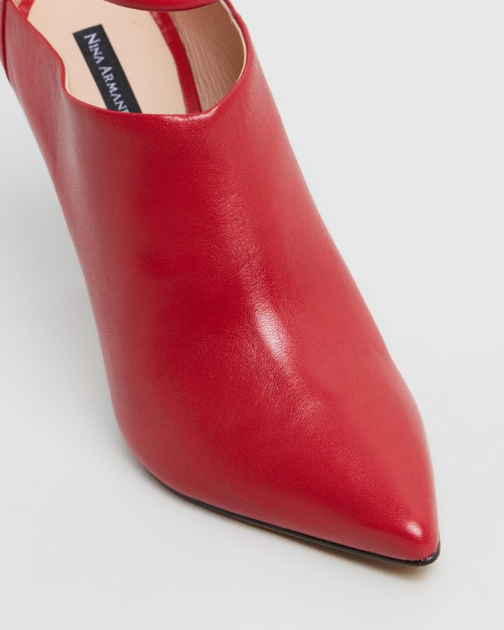 Lesley Boots - Red