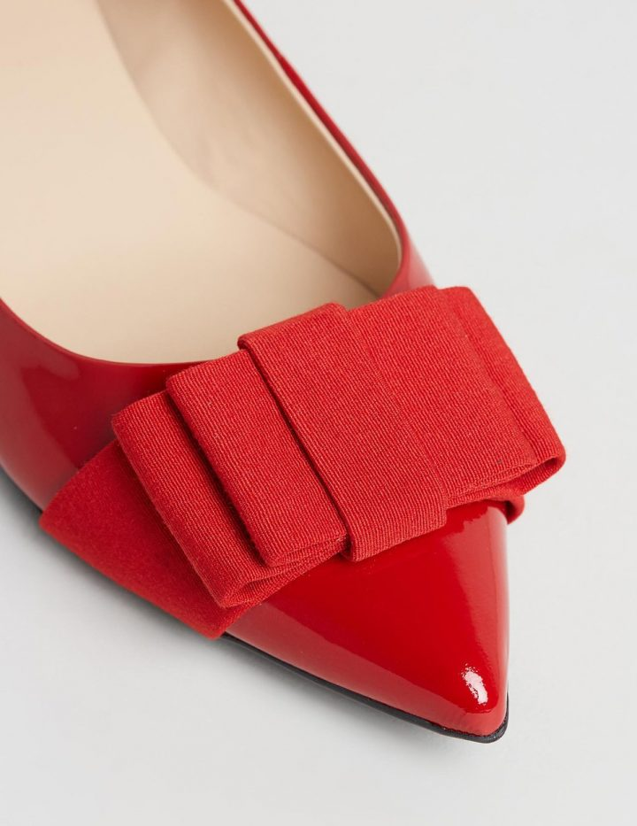 Bronte - Red Patent