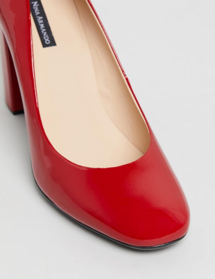 Gladys - Red Patent