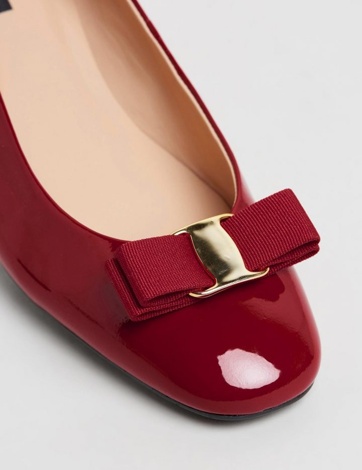 Rosey - Red Patent