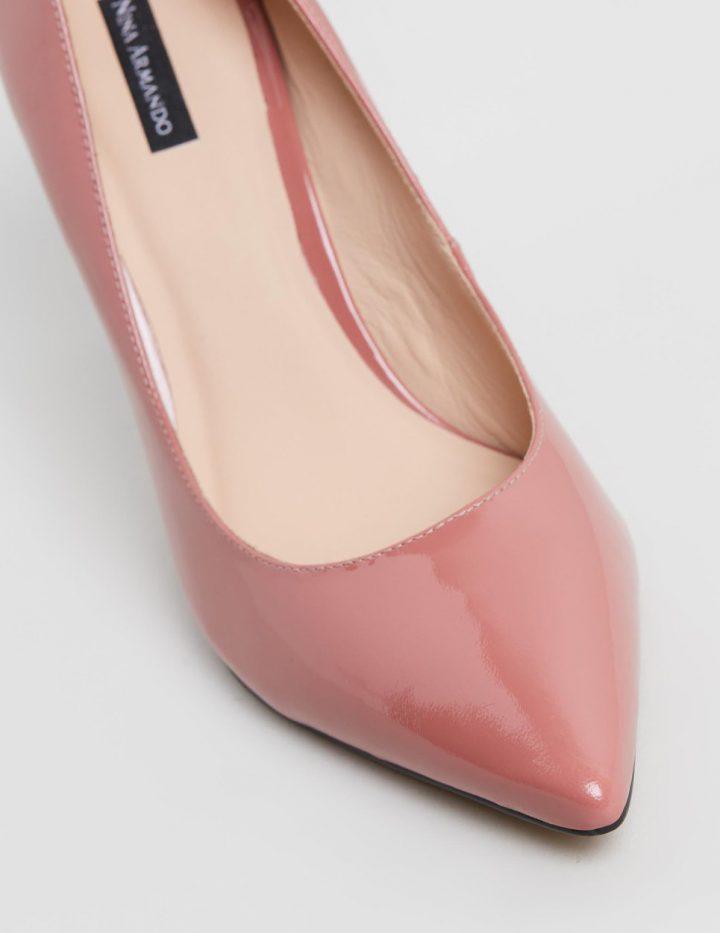Bonnie - Dusty Pink Patent