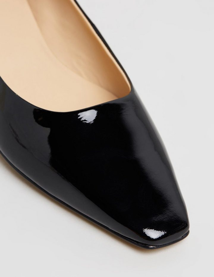 Angelica - Black Patent