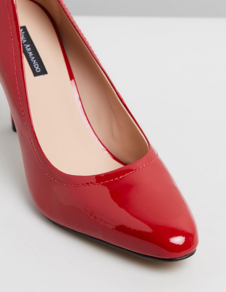 Naomi - Red Patent