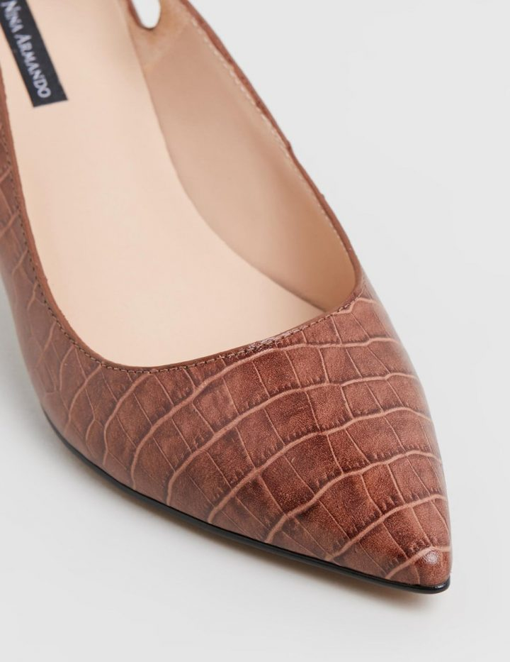 Amanda II - Cognac brown