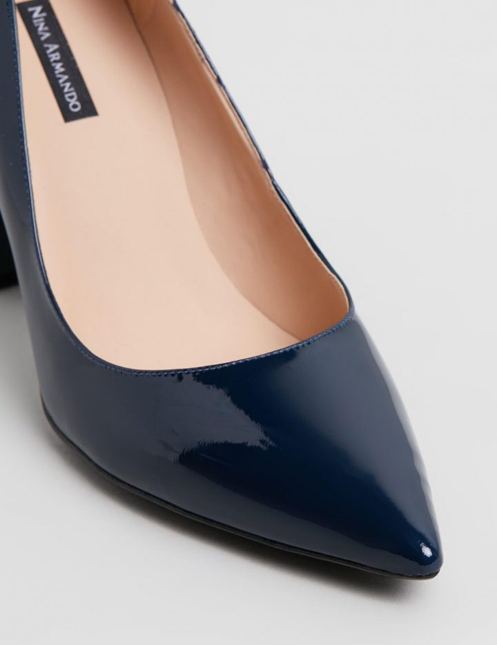Thea - Navy Patent