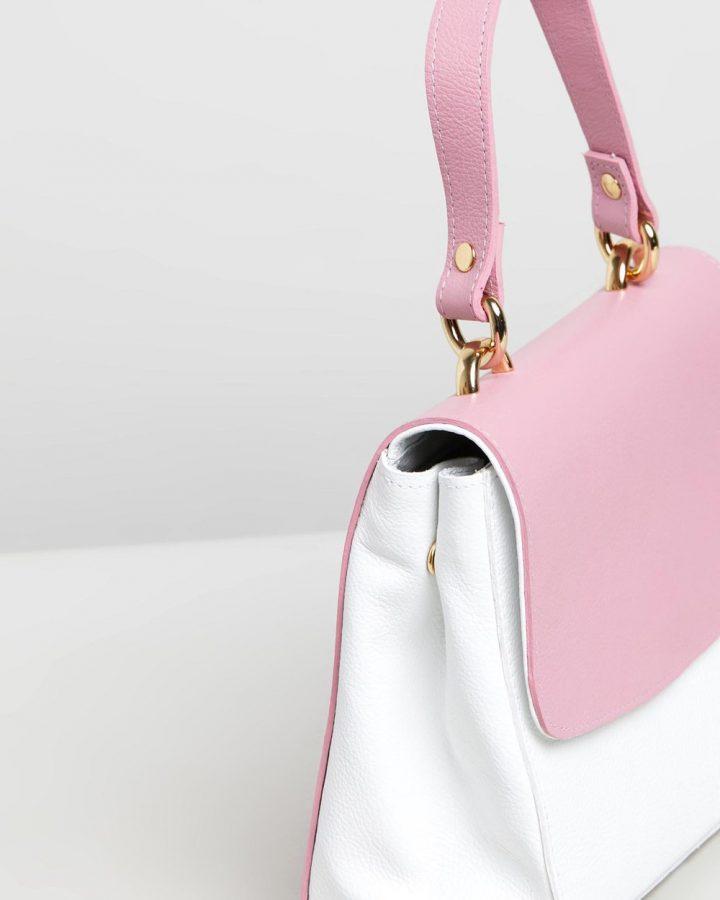 Isla - Pink & White