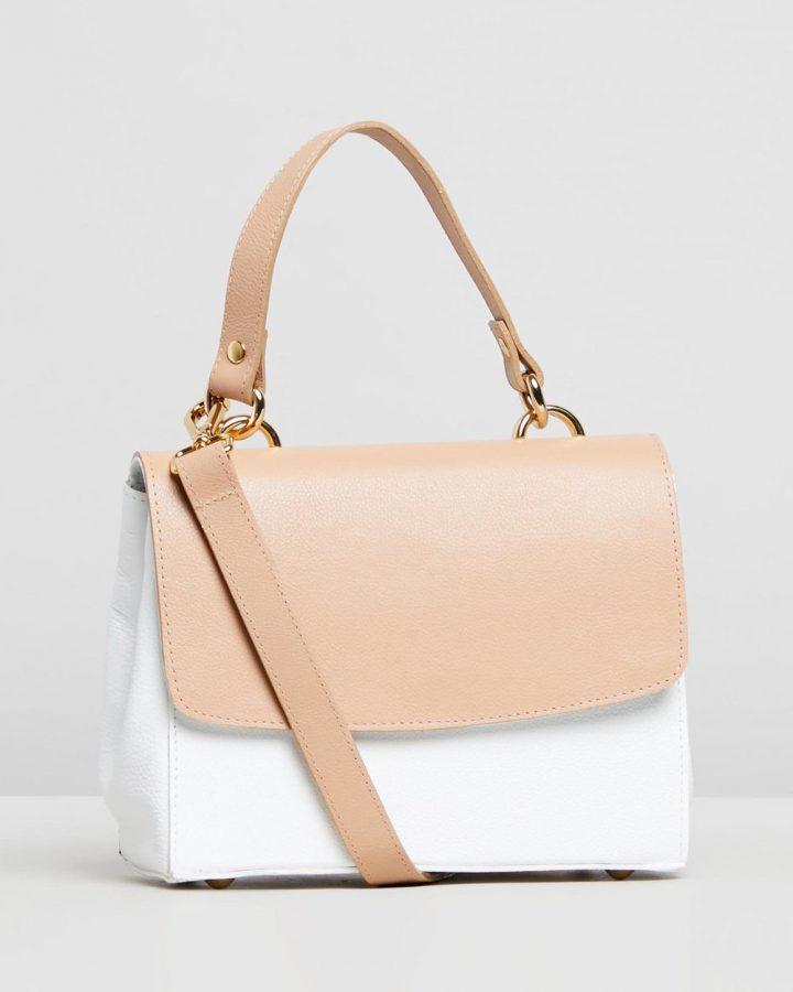 Isla - Brown & White