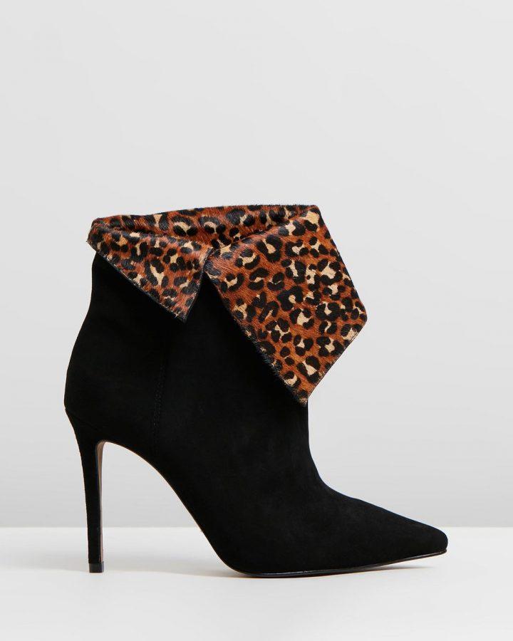 Linda - Black & Leopard