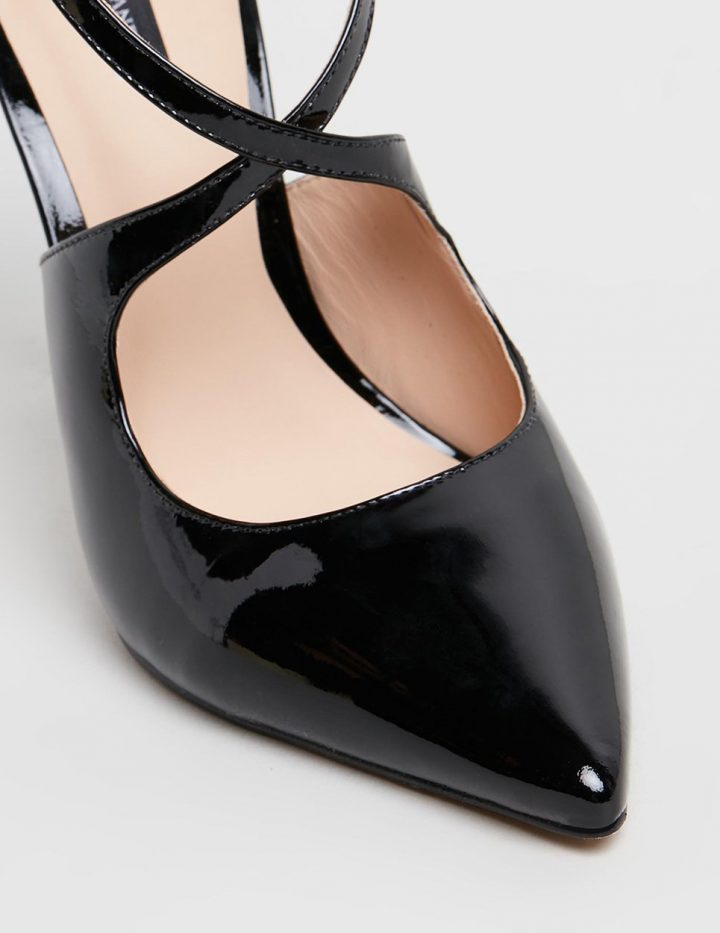 Callie - Black Patent