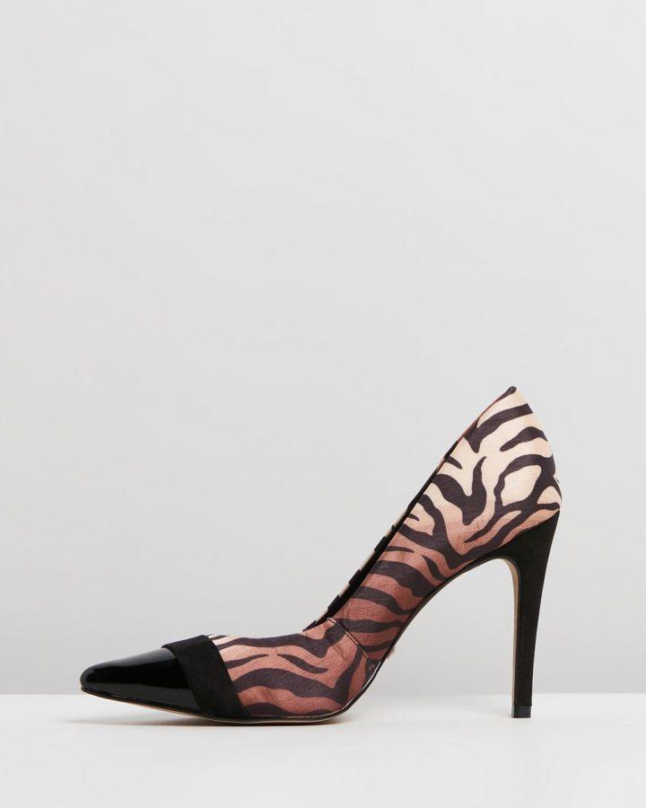 Yvete - Black & Tiger Stripe