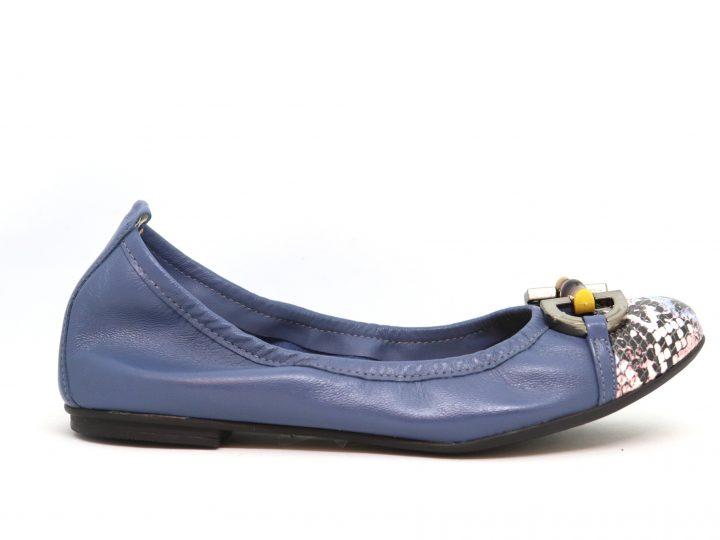 Suri - Blue With Snakeskin